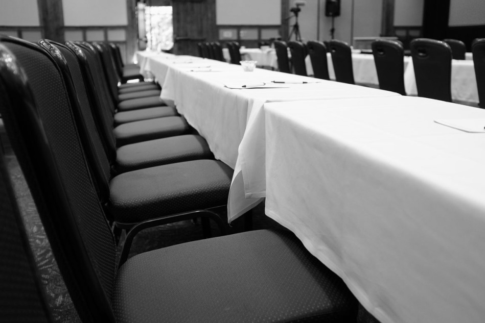 Chairs Waiting for Talks